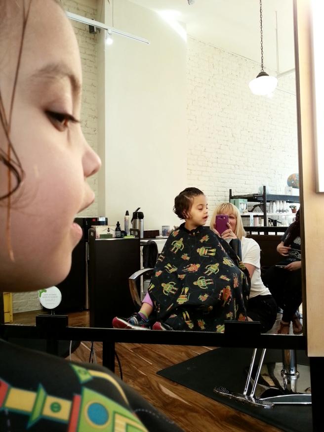 Mirror Gazing.