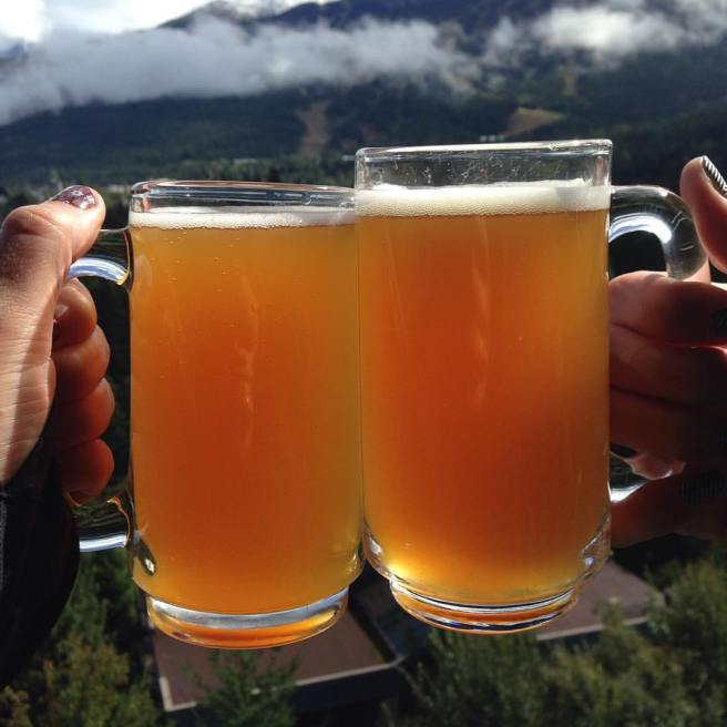 Beer is better in Whistler.