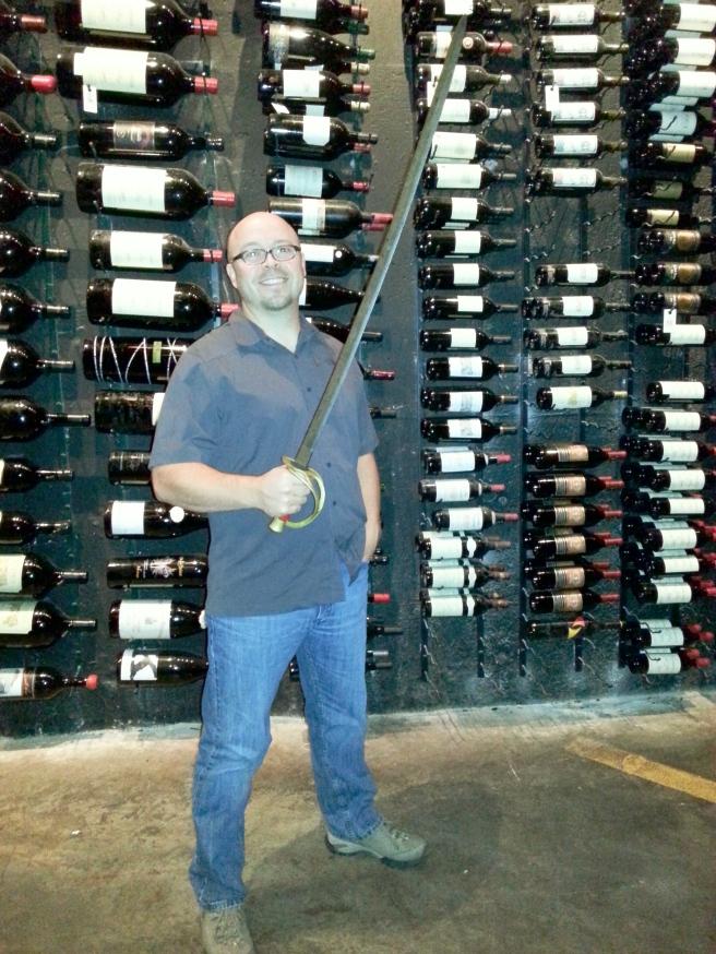 That's a big saber!
