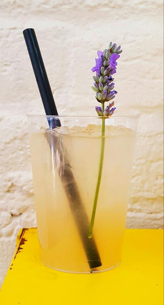 Lavender drink goodness!